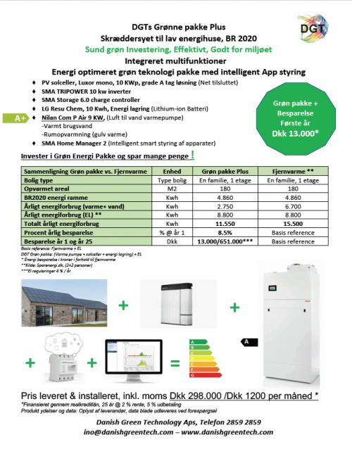 DGTs Grønne pakke Plus